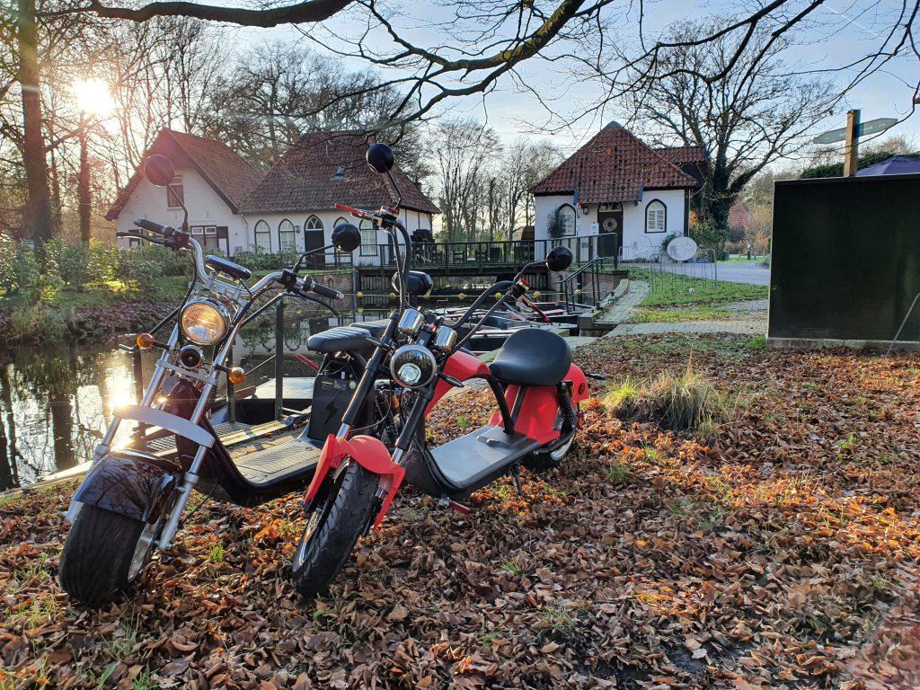 E-choppers Route Wenters bij De Gulle Smid